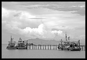 Fishing fleet, Penang Island
