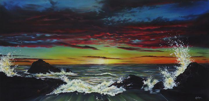 Beachscape - Art by Kintner