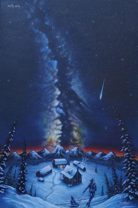 Milky Way - Art by Kintner