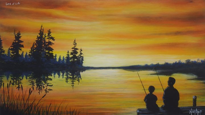 Lures of Life - Art by Kintner