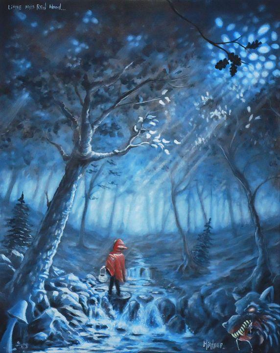 Little Miss Red Hood - Art by Kintner