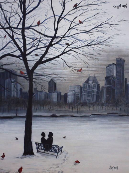 Central Park - Art by Kintner