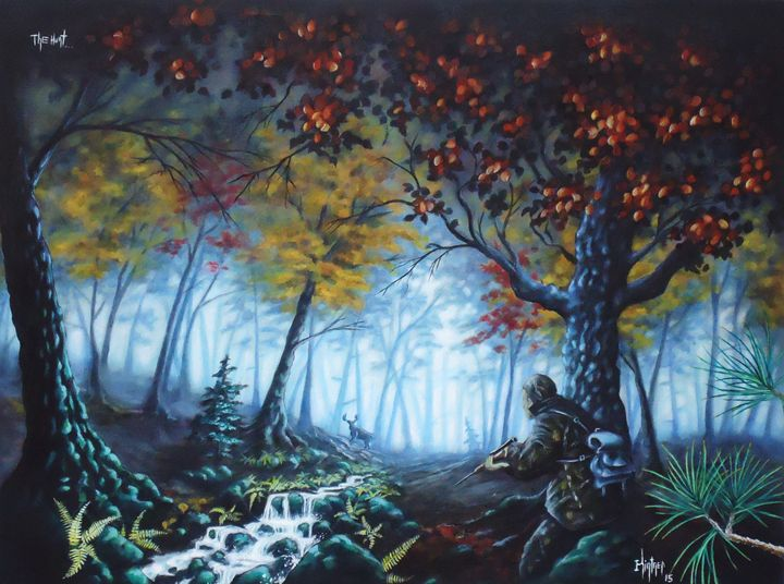 The Hunt - Art by Kintner