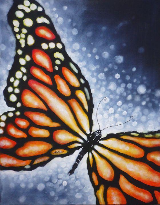 Butterfly Kiss - Art by Kintner