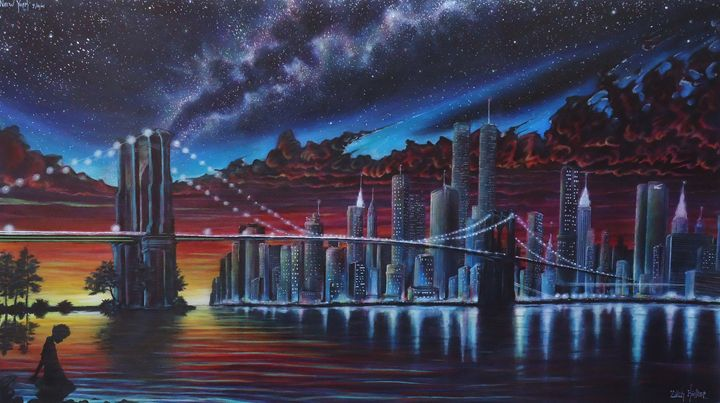 New York: The Day Before 9/11 - Art by Kintner