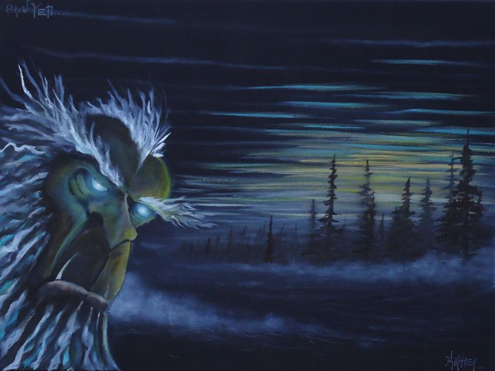 Snow Yeti - Art by Kintner