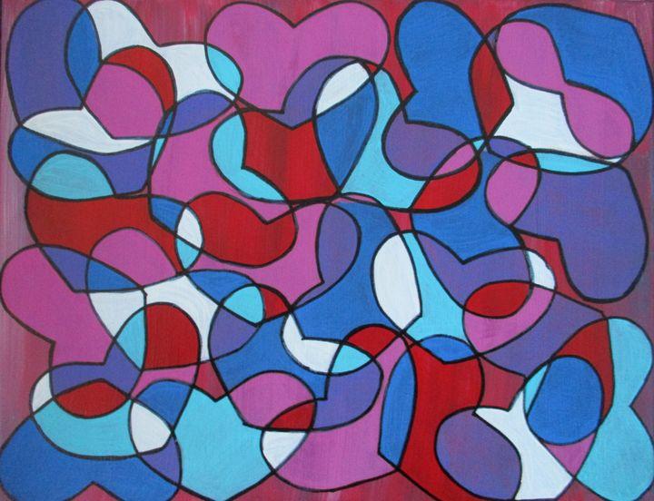 Love Hearts - Jennifer s Work