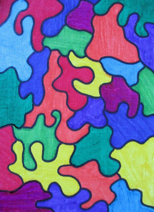 Puzzle Pieces - Jennifer s Work