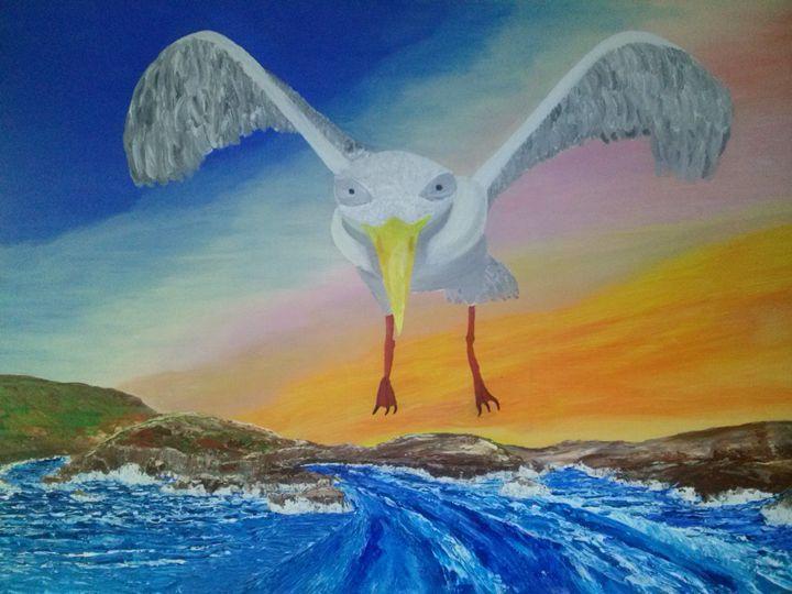 on a wing - Kemp Artwork