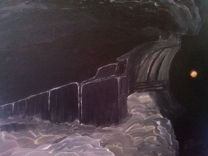 Steam of the Knight - Kemp Artwork