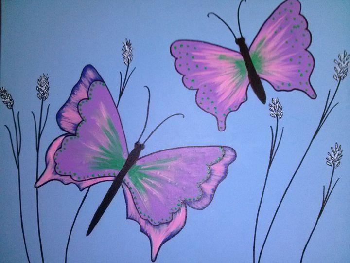 Butterfly dreams 1 of 6 - Kemp Artwork