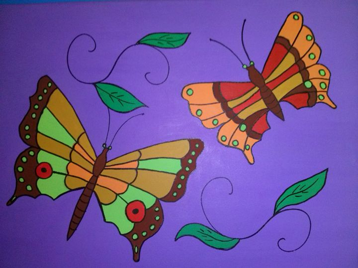Butterfly dreams 3 of 6 - Kemp Artwork