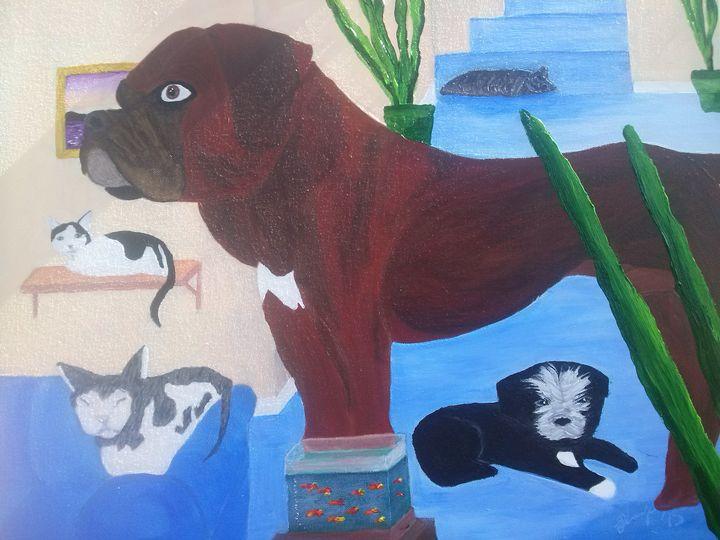 The family - Kemp Artwork