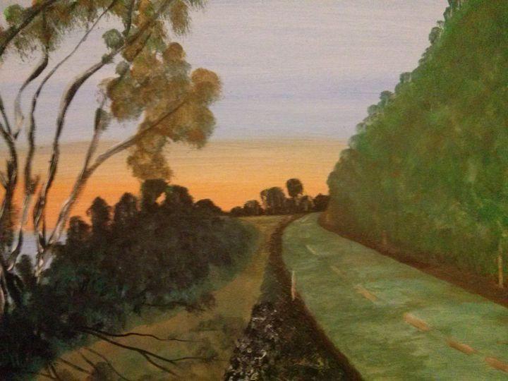 Road Tripping - Kemp Artwork