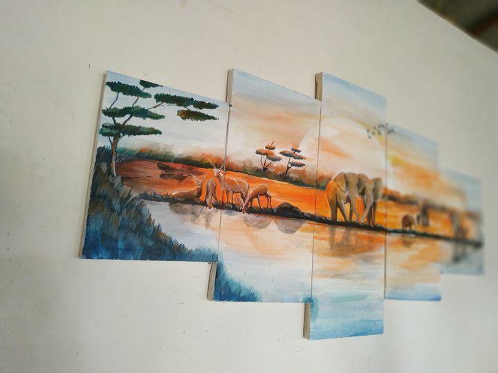 canvers wall art - Lalitha Art