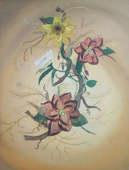 "Sweet Magnolia Summer - "" Not so perfect Art """