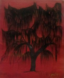 """Ghostly Willow - """" Not so perfect Art """""""