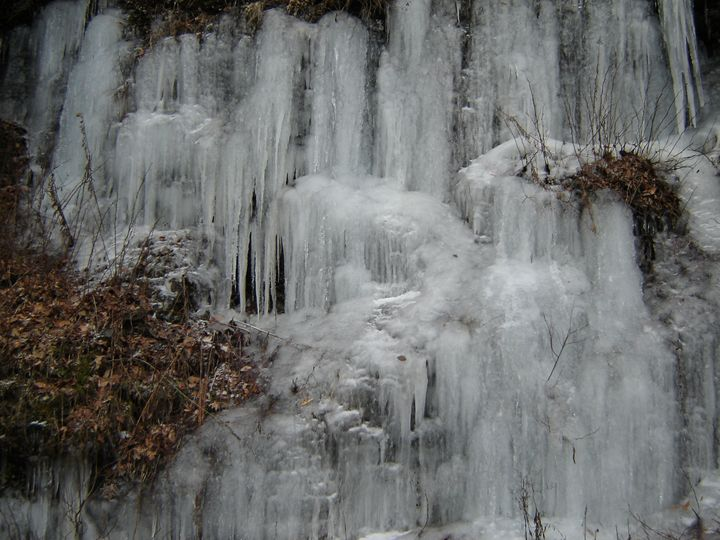 Ice Waterfall - Marc Crepeaux