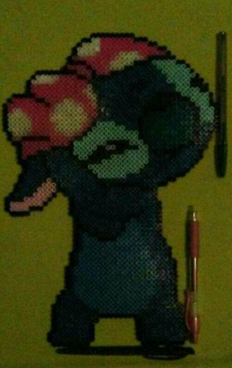 Stitch Perler/Hama Bead Portrait - ArtFromNay2U