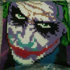 Joker Perler/Hama Bead Portrait