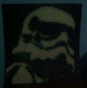 Storm Trooper Perler/Hama Bead