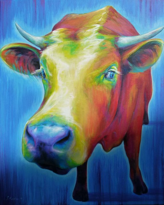 Cow Power Animal Spirit Guide - Sabine Koschier