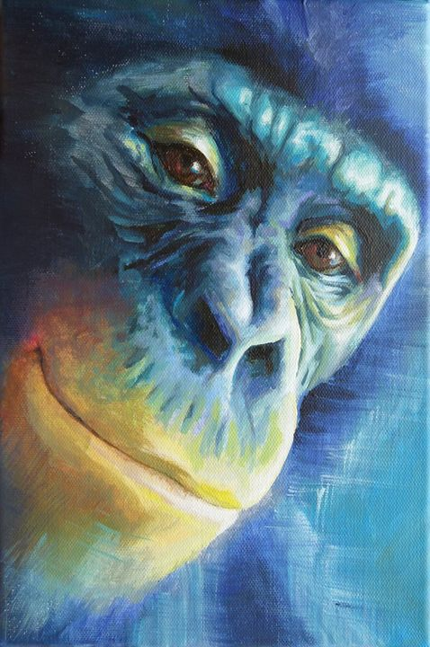 Bonobo Power Animal Spirit Guide - Sabine Koschier
