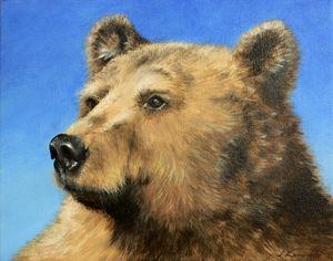 Brown Bear Power Animal Spirit Guide