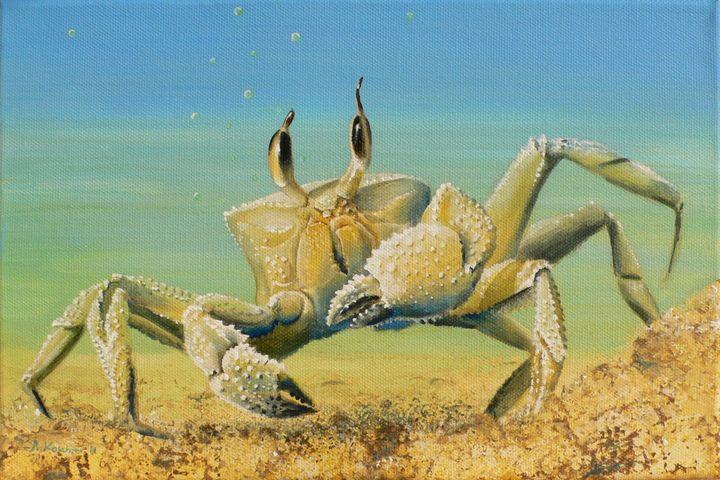 Crab Power Animal Spirit Guide - Sabine Koschier