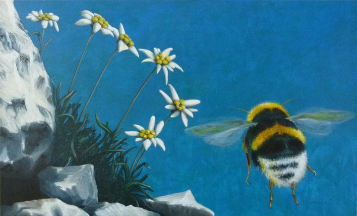 Bumblebee Power Animal Spirit Guide - Sabine Koschier