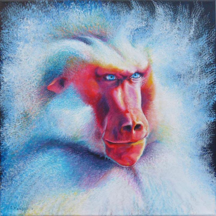 Baboon Power Animal Spirit Guide - Sabine Koschier