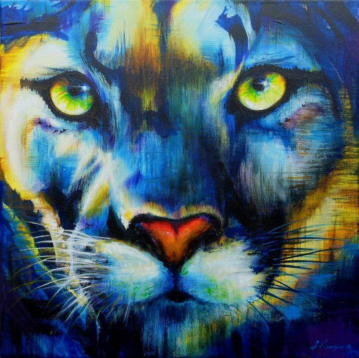 Puma Power Animal Spirit Guide - Sabine Koschier