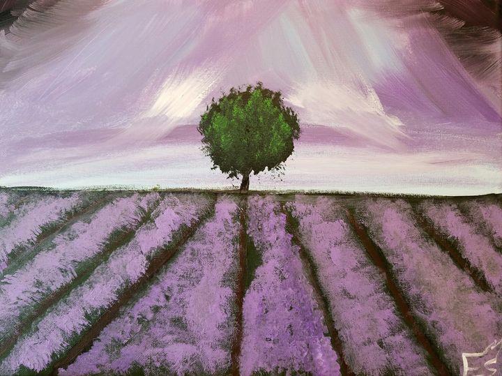 The lone tree - E.M.S ART