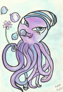 bubble the pirate octopus