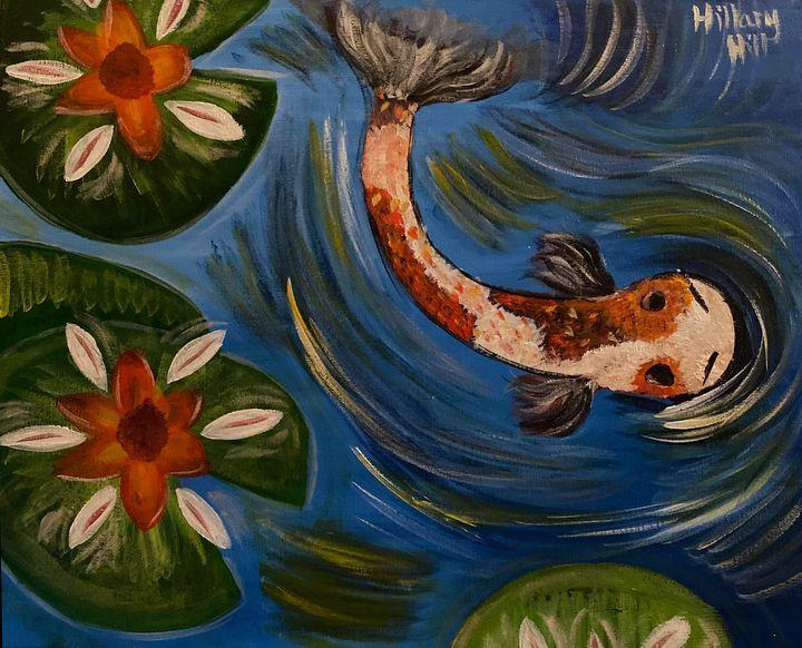 Koi Fish - HillaryHillArt4U