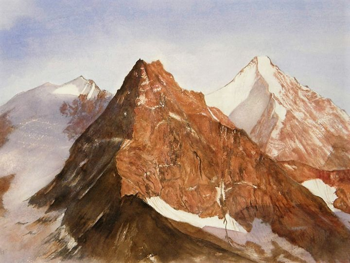 The Besso and the Obergabelhorn - Gallery Ellaya