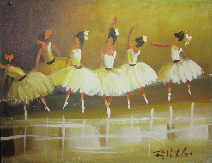 Ballet Dancer I - Latin Art
