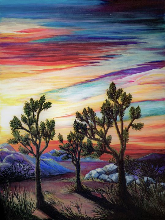 Joshua tree sunrise - Rachel McClure