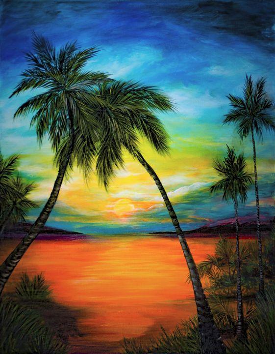 Lovers Palm - Rachel McClure