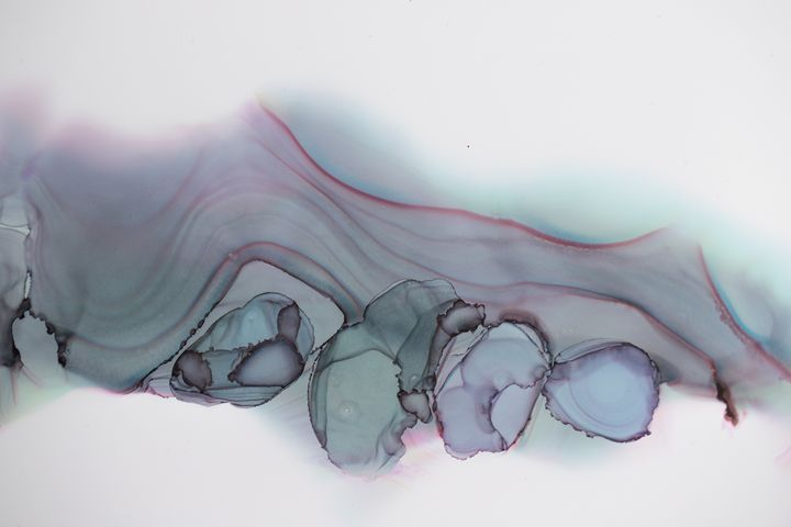 Abstract Alcohol Ink - Abstract
