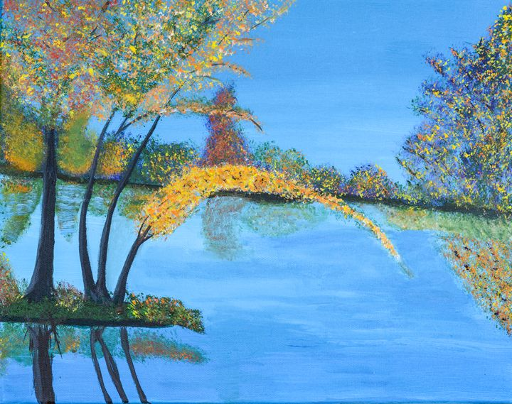 Fall by the Water - Lyndall's Artwork