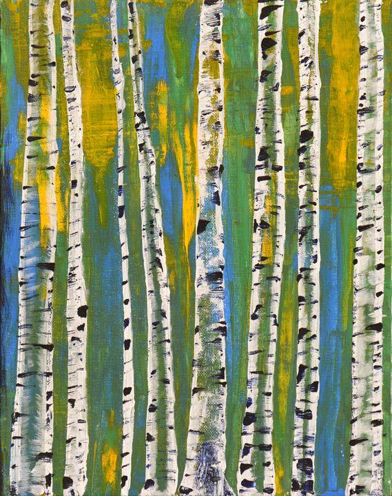 Ed's Favorite Trees - Lyndall's Artwork
