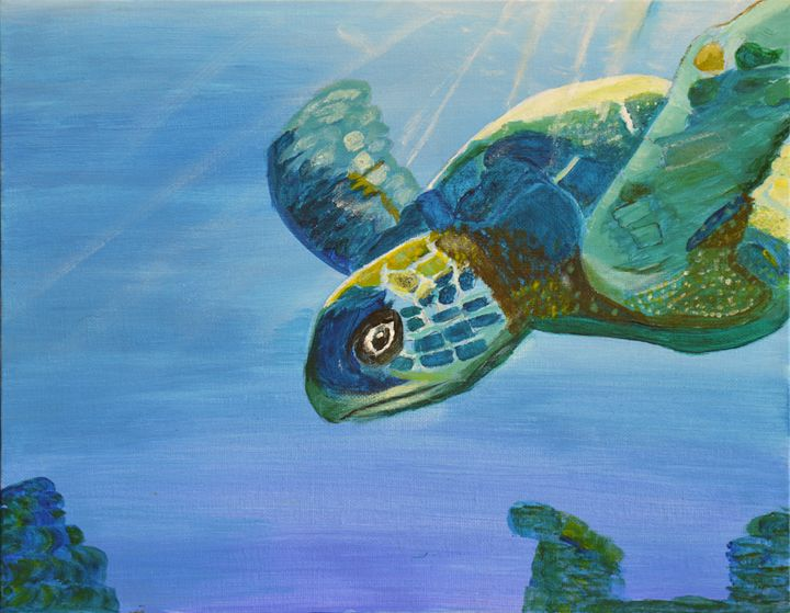 Sea Turtle - Lyndall's Artwork