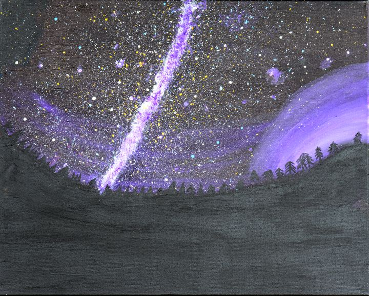 Million Star Night Sky - Lyndall's Artwork