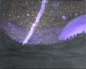 Million Star Night Sky