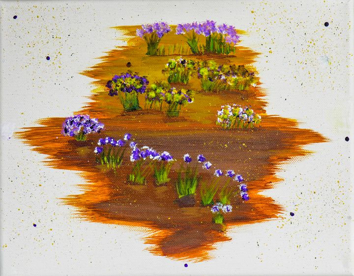 Desert Flowers - Lyndall's Artwork