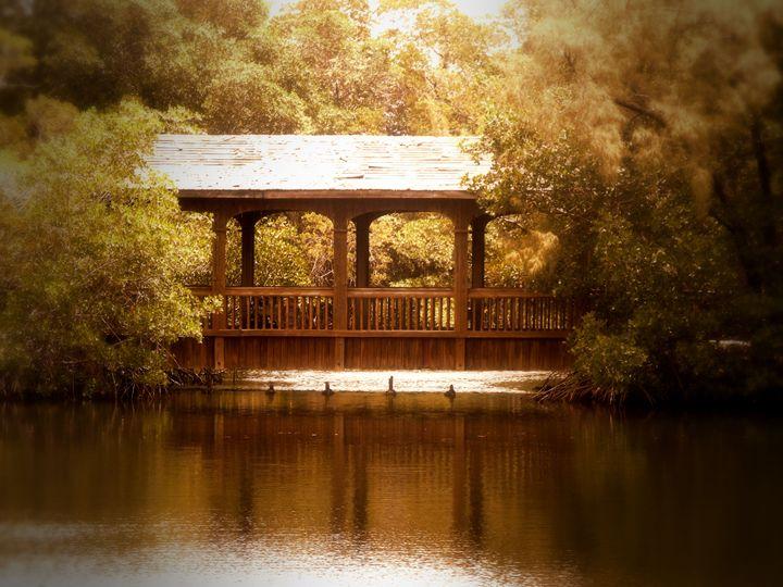 Golden Bridge - Black Nature