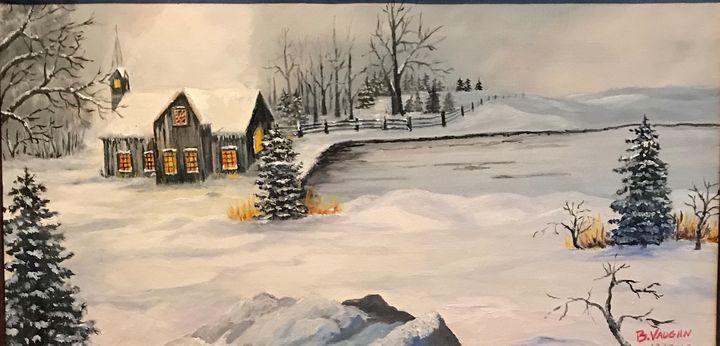 Quiet Winters Evening - William Vaughn