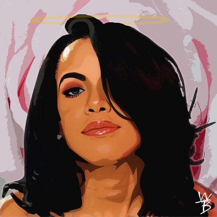 R.I.P. Aaliyah - Dopeness by Rez
