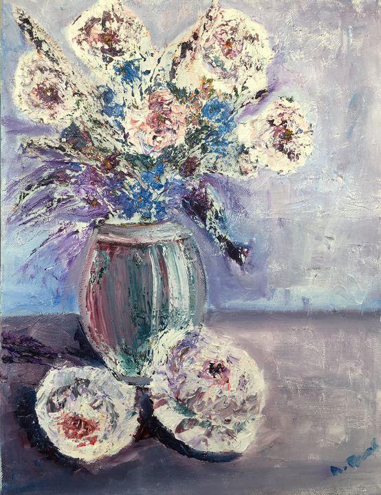 Vase of flowers - Anne Pears